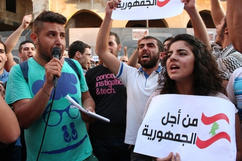 Youth protests in Lebanon