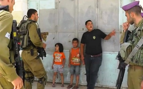 5-year-old West Bank boy detaineed by Israeli troops