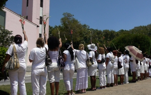 Ladies in White protest Havana, Cuba