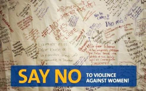 16 Days Say No to Violence Campaign signatures