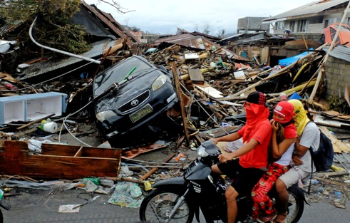 Philippines devastation November 2013