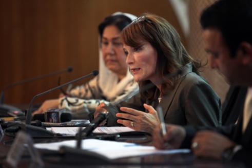 UNAMA Director of Human Rights Georgette Gagnon