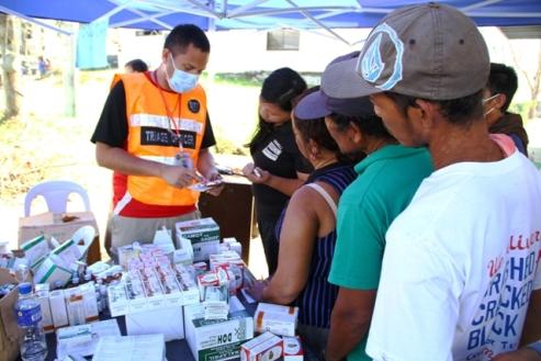 UN relief aid worker