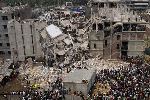 Collapse of the Rana Plaza building Dhaka, Bangladesh