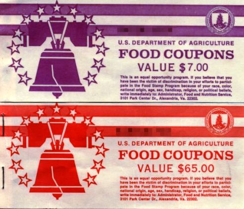 Food Stamps coupons