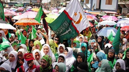 Philippine women's rally