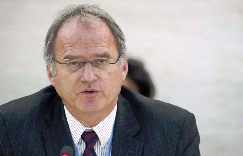 United Nations Special Rapporteur on Extrajudicial, Summary or Arbitrary Executions Christof Heyns