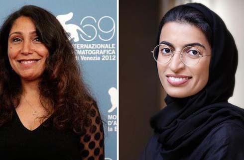 Haifa al-Mansour and Noura al-Kaabi.