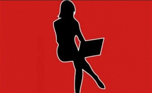 Female with laptop