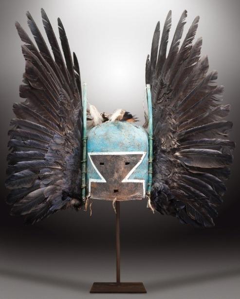 Hopi mask artifact