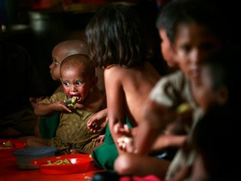 Thailand Rohingya children