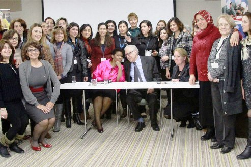 Syria women at the United Nations in Geneva