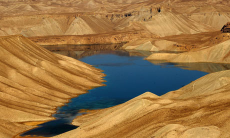 Band-e-Amir lake in Afghanistan