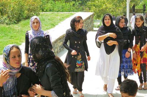 Teen girls Kabul