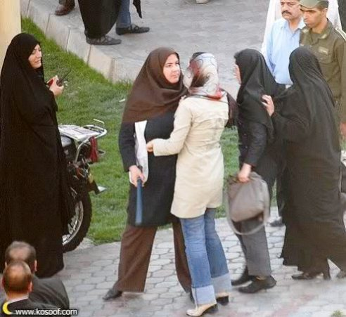Morality police women Iran