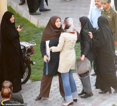 Morality police women Iran