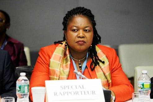 UN Special Rapporteur on Trafficking in Persons Joy Ngozi Ezeilo