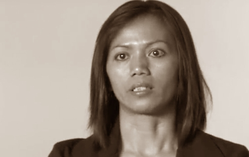Trafficking survivor Ima Matul