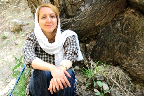 Facebook photo of Sanaz Nezami