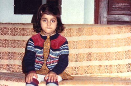 Deeyah at age six