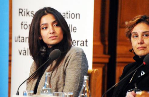Deeyah speaks at Swedish Parliament