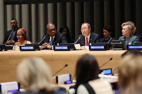 Panelists for UN International Women's Day 2014