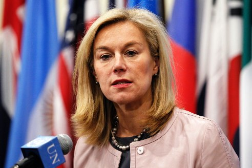 Special Coordinator for the Joint Mission of the OPCW and the UN to eliminate Syria's chemical weapons programme, Sigrid Kaag