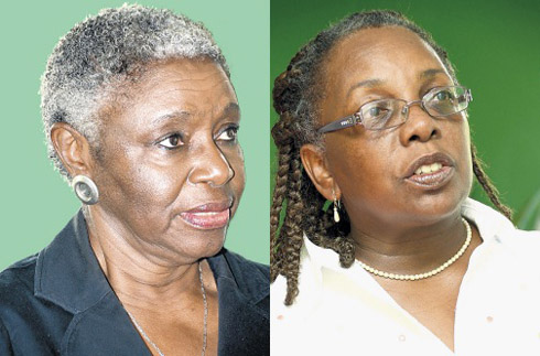 Dorothy Wyte and Dr Leith Dunn