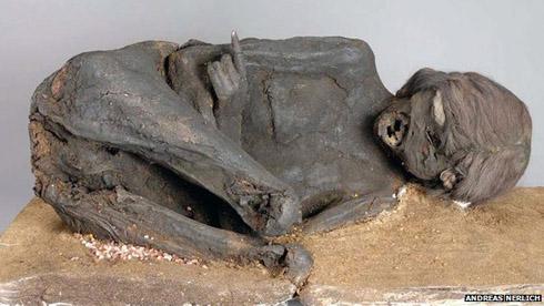Female mummy