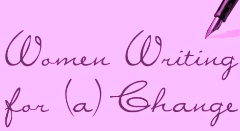 Women Writing for (a) Change banner