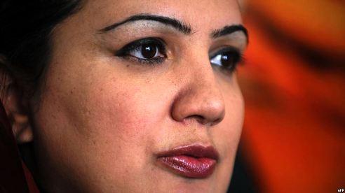 Afghan MP (Member of Parliament) Shukria Barakzai