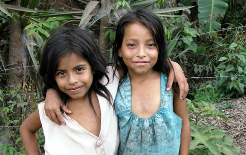 Honduran farm girls