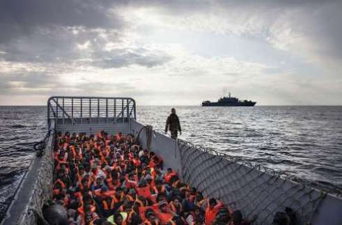 186 displaced persons are rescued by Italy's Navy