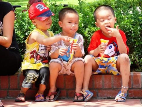 Children in Hanoi, Vietnam