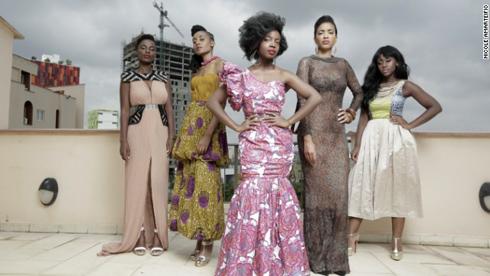 'An African City' cast members