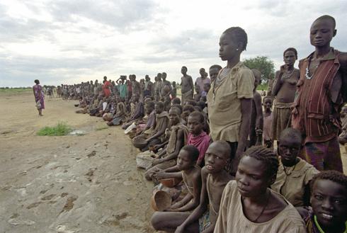 South Sudan Women and Children - UN photo -