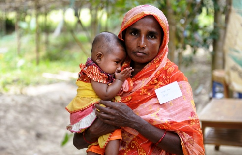 Bangladesh mother & child
