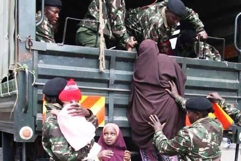 Arrets of Somali family in Nairobi