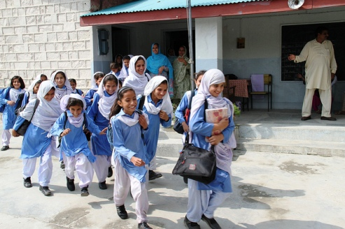 Girls in school Pakistan