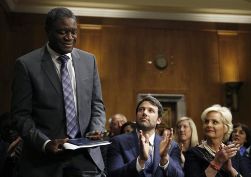 Applauds for Dr. Denis Mukwege
