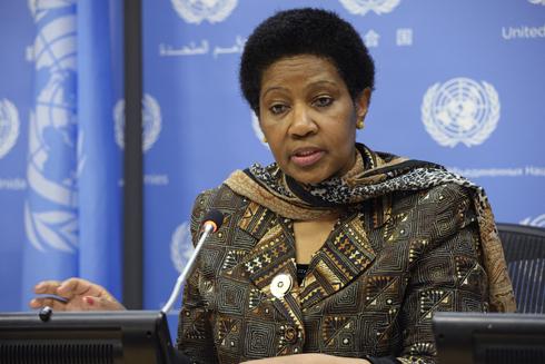 Phumzile Mlambo-Ngcuka, the head of UN Women