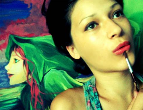Romanian artist Cuiedan Alina