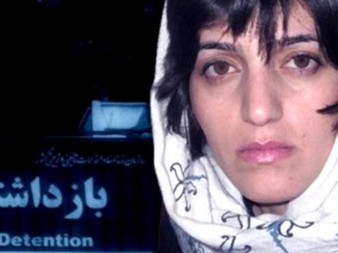 Iranian woman journalist Marzieh Rasouli