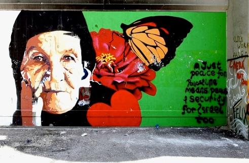 Bethlehem grafitti wall