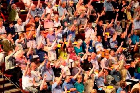 The Church of England General Synod voting