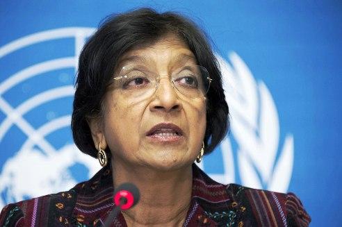 UN Human Rights Chief Navi Pillay