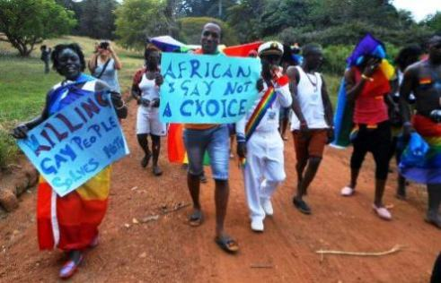 Uganda Gay Pride March 2012