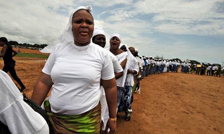 Liberia peace women