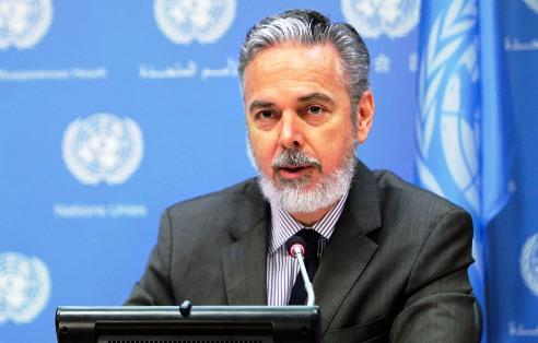 Chair of the Peacebuilding Commission (PBC) Antonio de Aguiar Patriota.