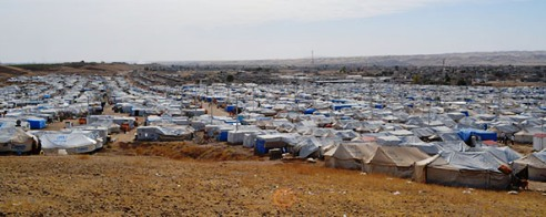 Tent city at Kawargosk Camp Iraq